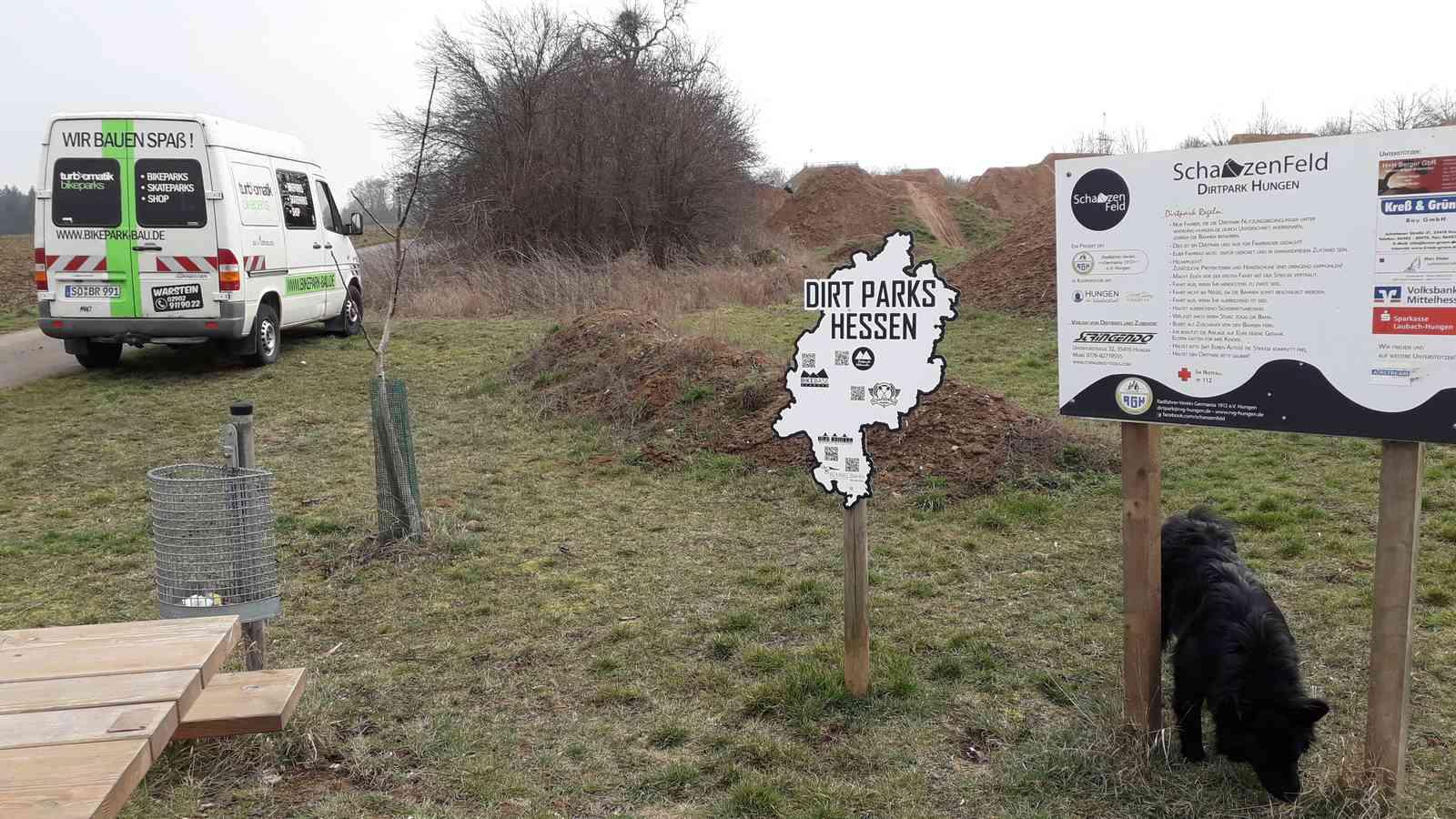 Schanzenfeld Hungen Dirtpark Hessen Mtb Schanze 04