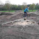 Dirtpark Gymnasium Neuenkirchen Pumptrack Schule Mountainbike Ag 37