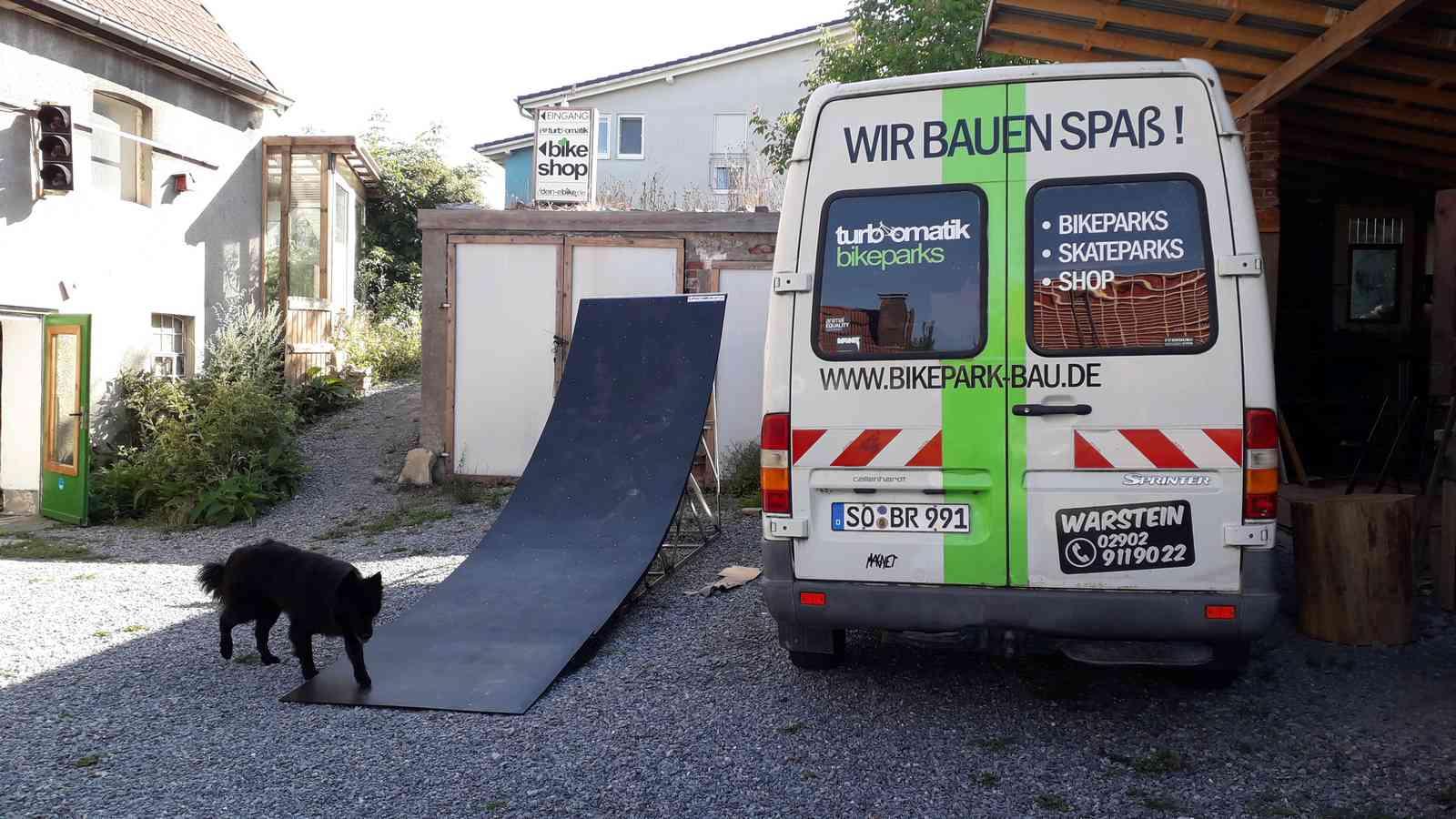 Mtb Rampe Bauen