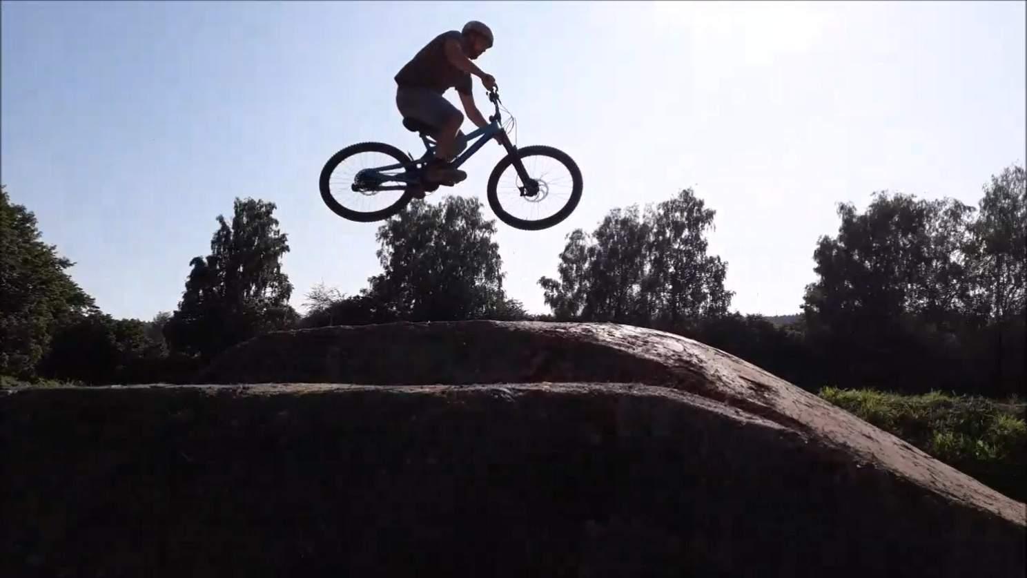 Mountainbike singletrail bodensee