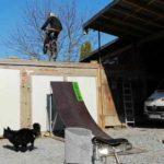 Mtb-tricksprung-bauen