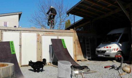 Professionelle MTB-Kicker kaufen | Mobiler BMX Parcours | Mountainbike Rampe