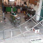 Mtb Sprung Bauen Holz Kicker Stahl Schanze 05
