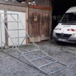 Mtb Sprung Bauen Holz Kicker Stahl Schanze 07