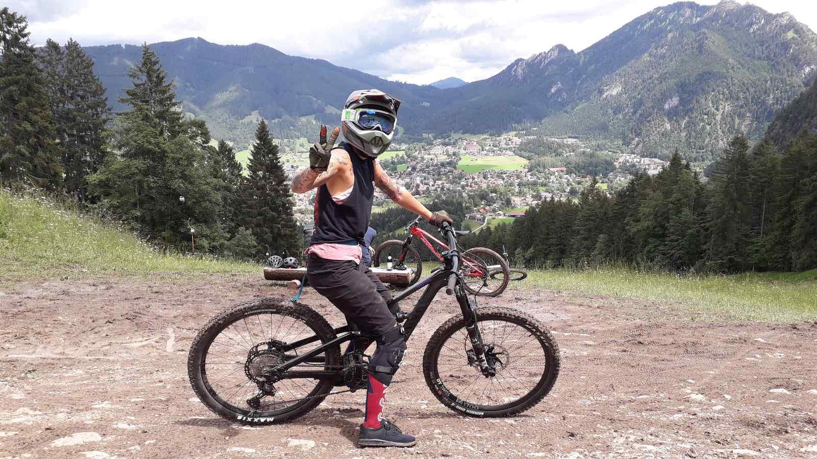 Bikepark Oberammergau Flowtrail Bayern Downhill Alpen 05