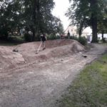 How To Build A Garden Pump Track Bmx Mountainbike 01