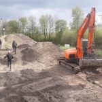 Dirtpark Wadersloh MTB Sprung Bauen Pumptrack Hersteller Turbomatik 004