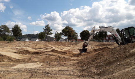 Dirtpark Bensheim | Dirtjump Tables, Pumptrack & Radcross Trails