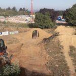 Dirtpark Wetzlar Mtb Kicker Fahrrad Schanze Bauen 10