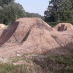 Double Kicker Line Tricksprung Holzkicker Dirtjump Fahrrad Rampe Mtb Dirtpark Ahaus 007