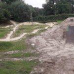 Double Kicker Line Tricksprung Holzkicker Dirtjump Fahrrad Rampe Mtb Dirtpark Ahaus 013