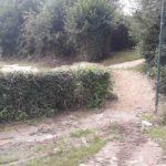 Double Kicker Line Tricksprung Holzkicker Dirtjump Fahrrad Rampe Mtb Dirtpark Ahaus 019