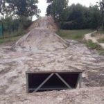 Double Kicker Line Tricksprung Holzkicker Dirtjump Fahrrad Rampe Mtb Dirtpark Ahaus 023