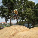 Mountainbike Streckenbau Dirtpark Griesheim Bikepark 019