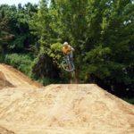 Mountainbike Streckenbau Dirtpark Griesheim Bikepark 025