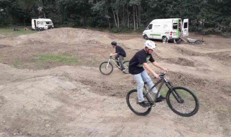 Dirtpark Niedersachsen Salzbergen Pumptrack Mountainbikeanlage Dirtbikepark